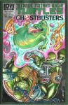 Ninja turtles and Ghostbusters sketchcover by alfret