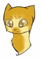 (TcotV) Goldenleaf headshot by TheClansOf-TheValley