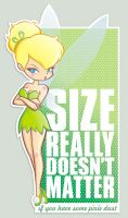 Size really doesn't matter by analage