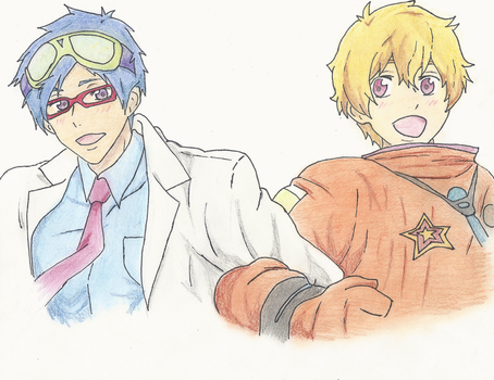 Reigisa: The Chemist and the Astronaut by aa5tidus
