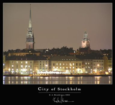 City of Stockholm by finncom
