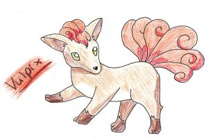 Contest: Vulpix by Catgirl1428
