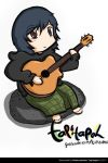 me and guitar by RBS-Tapitapeh