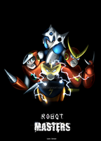 Robot masters - poster by zavraan