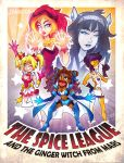 The Spice League And The Ginger Witch From Mars by Jynxed-Art