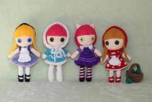 Annie overload League of Legends Amigurumi Dolls by Npantz22