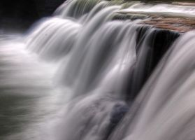 Letchworth's Lower Falls HDR by PaulSwiatkowskiPhoto