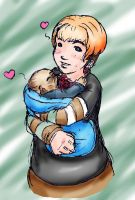 My Baby Ood -Colored- by NeptunesQueenBee