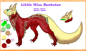 Little Miss Rambutan 2013(official ref) by Incyray