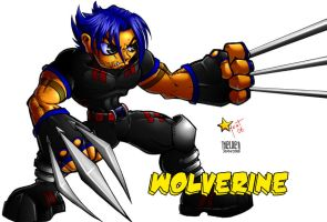 Wolverine SD - Colorized by Thelder-sama