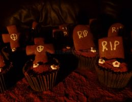 Gingerdead Cupcakes by lady-obsessed