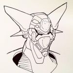 Getter Head Sketch by NoriToy