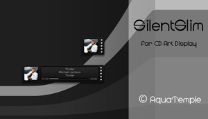 SilentSlim for CD Art Display by AquaTemple