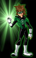 Green Lantern Sora by theRedDeath888