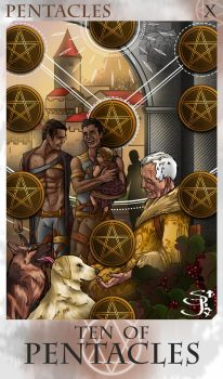 10 of Pentacles by St-Jinx