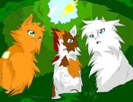 Brightheart's Loss Warriors by WhiteFlameSoul
