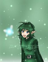 Saria - Child of the Forest by shirononekojin