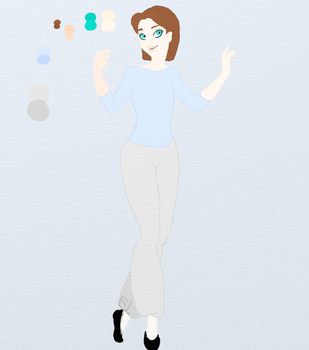 Me Traced From Dressup Game by ArtisticGoat123