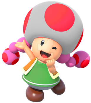 Toadette: my version by mrbill6ishere