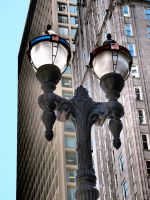 Street Lamp - Chicago DT by lightzone