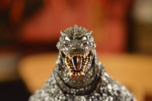 Custom - S.H Monsterarts Godzilla 2.0 (Repaint) 8 by GIGAN05