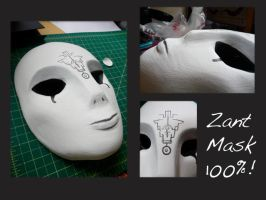 Zant Mask Complete by xRikku-chanx