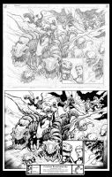 Ink Job Starburn Issue 1 Page 12-13 Combined by Docolomansky