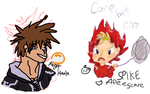 Drawpile w/ Shoopuff- Left hand poop by CNena