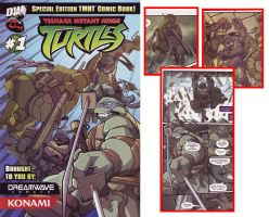 TMNT reprint comic cover by MattMoylan
