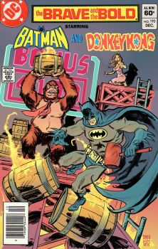 Batman VS Donkey Kong by deankotz