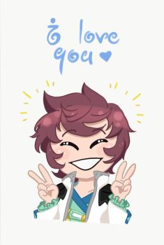 Asbel Loves You! by Mewnia