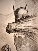 Jim Lee's Batman by myconius