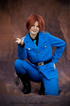 {APH cosplay} Italy: come my dear~ by AnAwkwardDuck