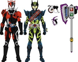 Kamen Rider Drive, Movie Forms by Taiko554