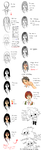 skin and hair tutorial by Vivisuke