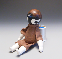 Sparrow Doll WIP by kaijumama