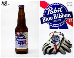 Pabst Blue Ribbon by Mobster9