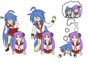Konata doll tf by Xysash