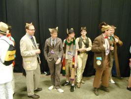 The Doctors at BronyCon 2012 by DestinyDecade
