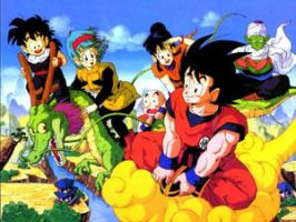 dragon ball z by italianstallion1