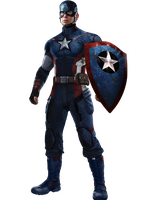ANAD Captain America with Shield by Spider-maguire