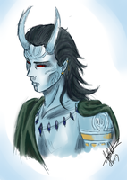 The Frost Giant of Asgard by ModernMortalServices