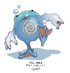 No.061 Poliwhirl by Bored-dood