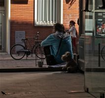Homeless. Toulouse. France. by jennystokes