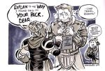 50 Shades of Grey Warden by aimo