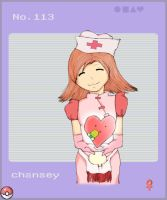 gijinka: why not D: chansey by E-Do-Ja