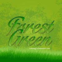 Forest Green Layer Style by Romenig