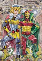 Barda-and-Mr-Miracle DC by Sidteles