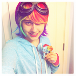 Rainbow Dash Cosplay Preview by aisu-isme