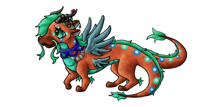 Art trade with firefox2287 by LpsStaticSapphire